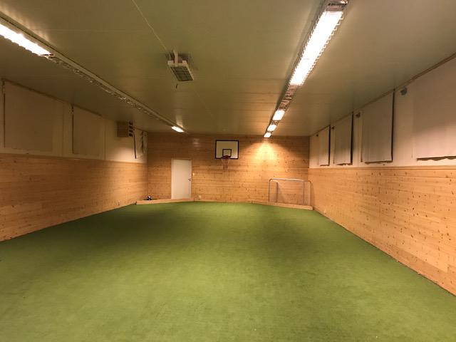 Ballbingen er nå åpen
